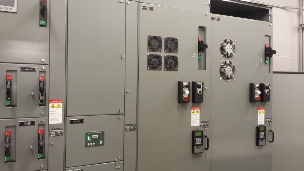 Well House Pump Station Electrial Control Panel