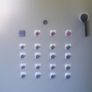 Chiller Control Panel Front
