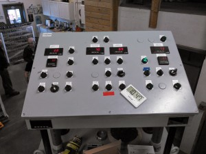 Centralized brewery automation control panel