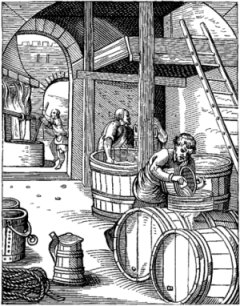 Pre-America brewers in the colonies, sans brewery automation
