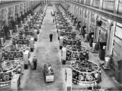 Nordberg radial diesel engines powering smelters at Kaiser