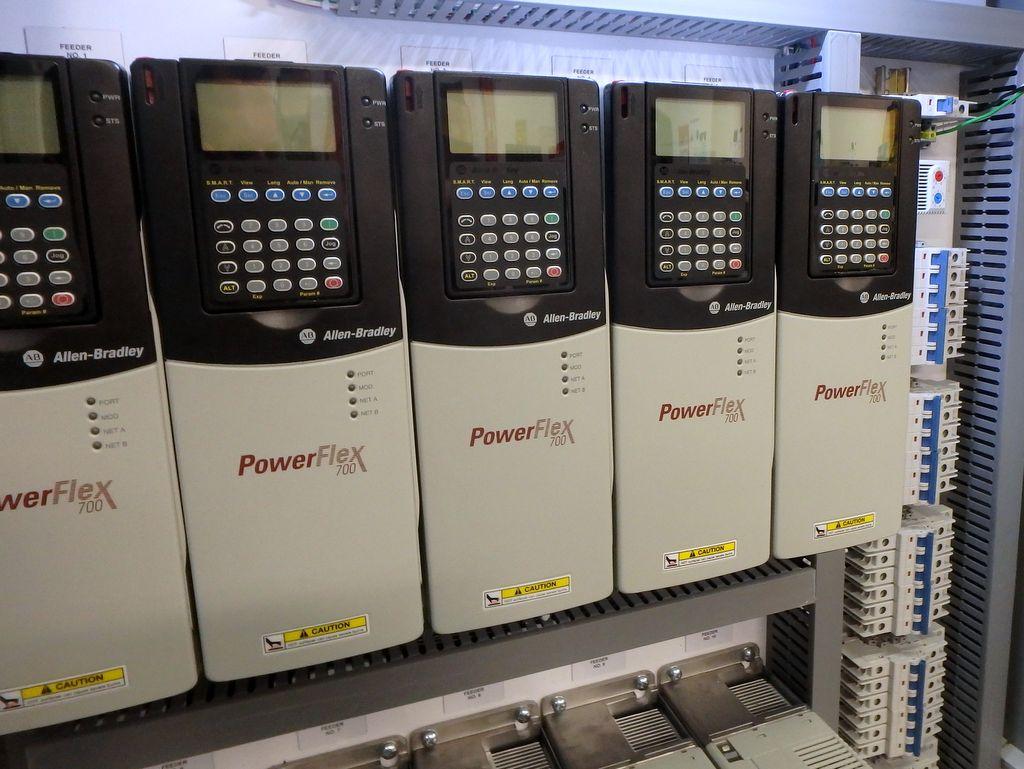VFD upgrade using Allen-Bradley Powerflex 700 modules